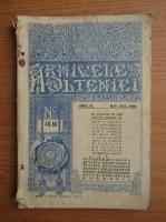 Anticariat: Arhivele Olteniei, anul IX, nr. 49-50, mai-august 1930