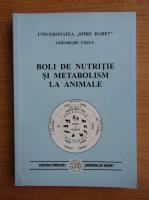 Gheorghe Parvu - Boli de nutritie si metabolism la animale