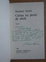 Anticariat: Nastasia Maniu - Cartea cu pereti de sticla (cu autograful si dedicatia autoarei pentru Balogh Jozsef)