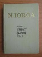 Anticariat: Nicolae Iorga - Istoria literaturii romane in secolul al XVIII-lea (volumul 2)