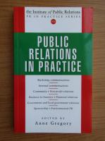Anticariat: Public relations in practice