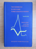 Anticariat: Taschenbuch Klinischer Funktionsprufungen
