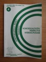 Cognitie, Creier, Comportament. Homosexualitatea: perspective interdisciplinare, volumul 1, nr. 4, decembrie 1997