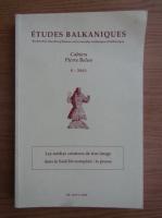 Anticariat: Etudes balkaniques