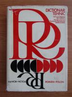 Anticariat: Friedrich Schattner - Dictionar tehnic polon-roman si roman-polon