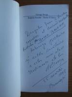 Anticariat: George Bocsa - Inpoia focului (editie bilingva, cu autograful si dedicatia autorului pentru Balogh Jozsef)