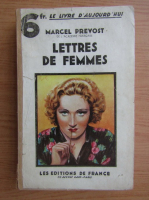 Marcel Prevost - Lettres de femmes (1932)