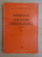 Anticariat: Materiale si cercetari arheologice (partea I)