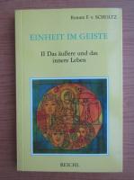 Anticariat: Renate F. v. Scholtz - Einheit im geiste