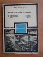 Anticariat: V. Bita - Sisteme informatice in economie