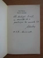 Anticariat: Virgil Diaconu - Departele epimenides (cu autograful autorului)