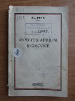 Alexandru Dima - Aspecte si atitudini ideologice (1933)