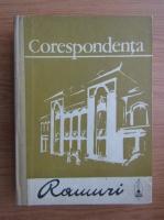 Corespondenta. Ramuri. Documente literare