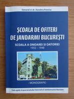 Anticariat: Dumitru Penciuc - Scoala de ofiteri de jandarmi Bucuresti