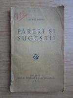 George Murnu - Pareri si sugestii (1928)