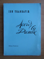 Anticariat: Ion Trandafir - Acord la Dunare