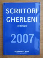 Anticariat: Scriitori gherleni, antologie 2007
