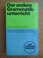 Wolfgang Boettcher - Der andere Grammatik-unterricht