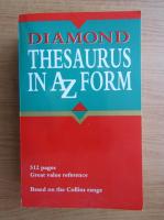 Diamond thesaurus in A Z form