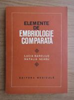 Anticariat: Lucia Bareliuc - Elemente de embriologie comparata