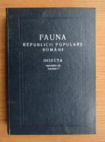 Mihai Constantinescu - Fauna Republicii Populare Romane, volumul 9, fascicula 5. Insecta