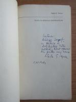 Radu G. Teposu - Viata si opiniile personajelor (cu autograful si dedicatia autorului pentru Balogh Jozsef)