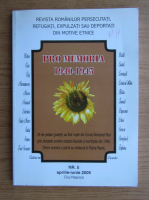 Anticariat: Revista Pro Memoria, nr. 5, aprilie-iunie, 2005