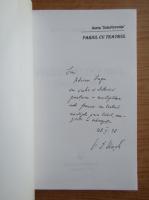 Anticariat: Victor Ernest Masek - Pariul cu teatru (cu autograful autorului)
