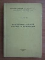 Ath. Trutia - Spectroscopia optica a starilor condensate