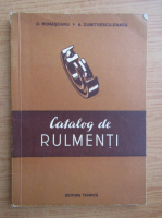 Dumitru Romascanu - Catalog de rulmenti