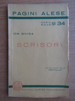 Anticariat: Ion Ghica - Scrisori (1939)