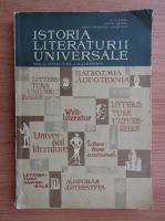 Anticariat: N. I. Barbu, Ovidiu Drimba - Istoria literaturii universale. Manual pentru clasa a XI-a umanistica (1967)