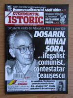 Anticariat: Revista Evenimentul Istoric, nr. 10, 23 noiembrie, 20 decembrie 2018