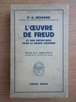 A. Hesnard - L'oeuvre de Freud et son importance pour le monde moderne