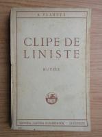 Anticariat: Al. Vlahuta - Clipe de liniste (1929)