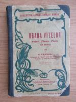 C. Filipescu - Hrana vitelor. Pasuni, fanete, plante de nutret (1930)