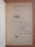 Constantin Voivozeanu - Intalnire pe faleza (cu autograful autorului)