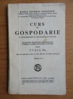 Maria General Dobrescu - Curs de gospodarie pentru clasa a II-a (1924)