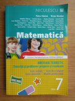 Petre Simion, Victor Nicolae - Matematica, clasa a VII-a, breviar teoretic. Exercitii si probleme propuse si rezolvate