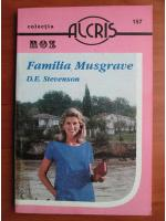 Anticariat: D. E. Stevenson - Familia Musgrave