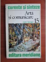 Anticariat: Rene Berger - Arta si comunicare