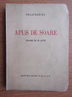 Anticariat: Barbu Stefanescu Delavrancea - Apus de soare (1927)