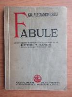 Anticariat: Grigore Alexandrescu - Fabule (1937)