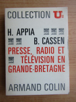 Henry Appia - Presse, radio et television en Grande-Bretagne