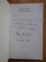 Anticariat: Stefan Racovitza - Cu mainile de cap. Cronica carcotasului (cu autograful autorului)