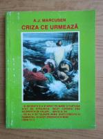 Anticariat: A. J. Marcusen - Criza ce urmeaza