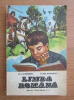 Ana Dumitrescu - Limba romana. Manual pentru clasa a V-a (1984)