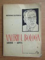 Anticariat: Benone Dutescu - Valeriu L. Bologa