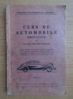 Anticariat: Constantin Mihailescu - Curs de automobile (1939)
