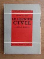 Anticariat: Ernst Glaeser - Le dernier civil (1937)